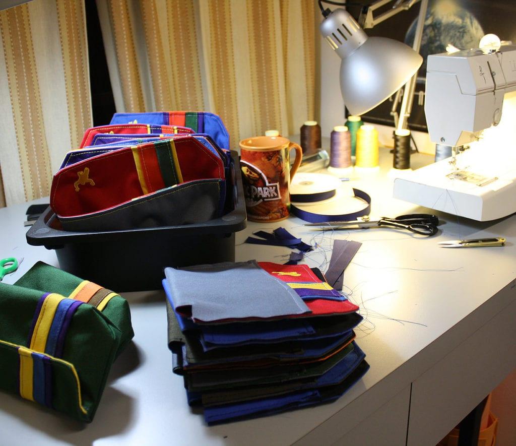 Greenroom136 bag making