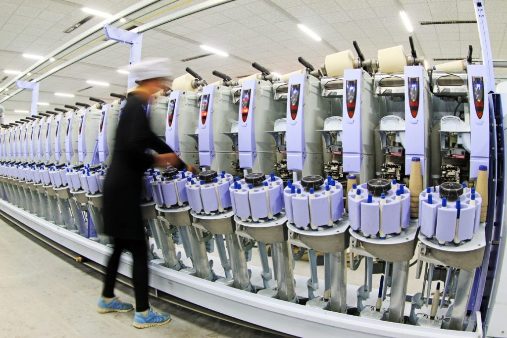 China remains the largest clothing exporter in the world.