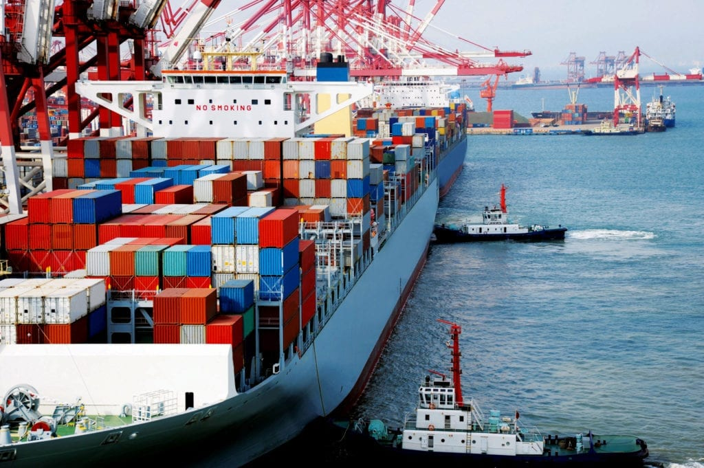 Total capacity of the world's cellular containership fleet passed 23 million TEU in September.