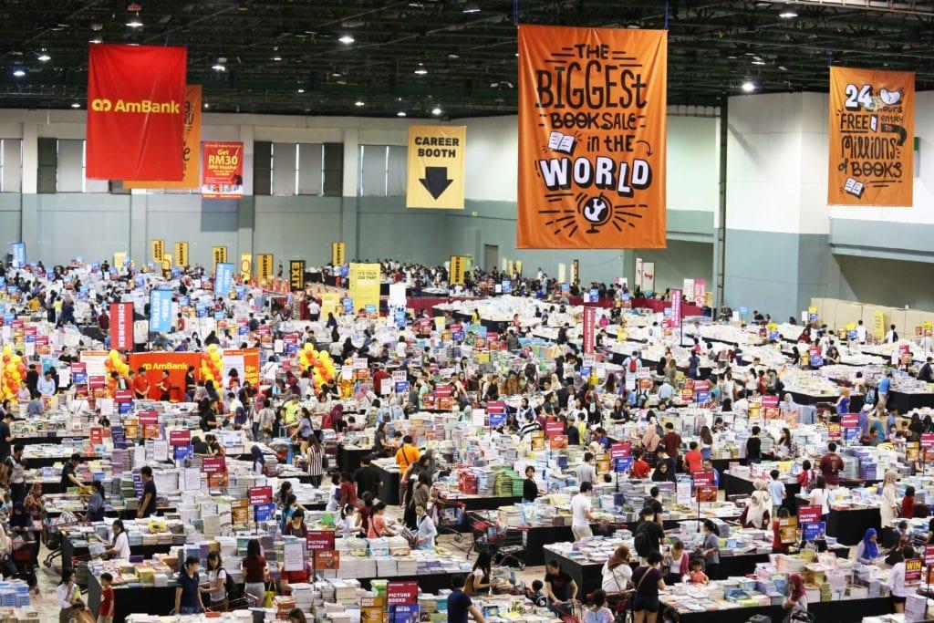 The Big Bad Wolf Book Sale Kuala Lumpur 2018