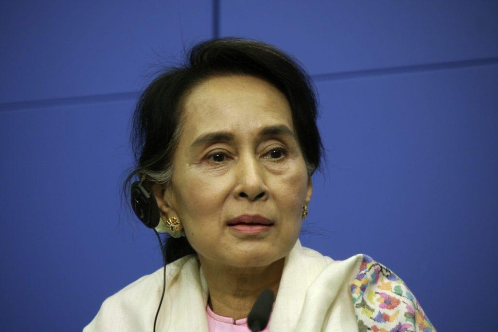 State Counselor Aung San Suu Kyi