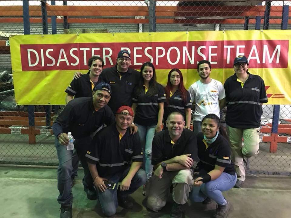 DHL GoHelp Americas team
