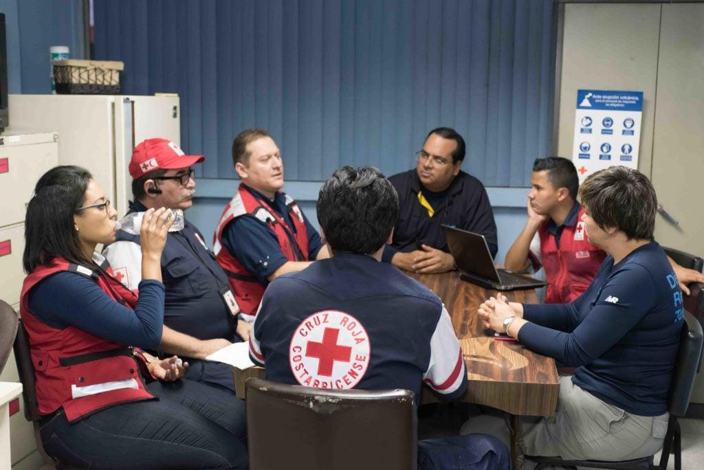 DHL volunteers disaster aid coordination