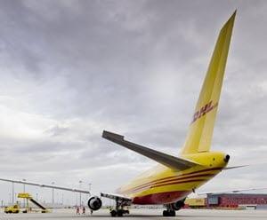DHL air freight forwarding