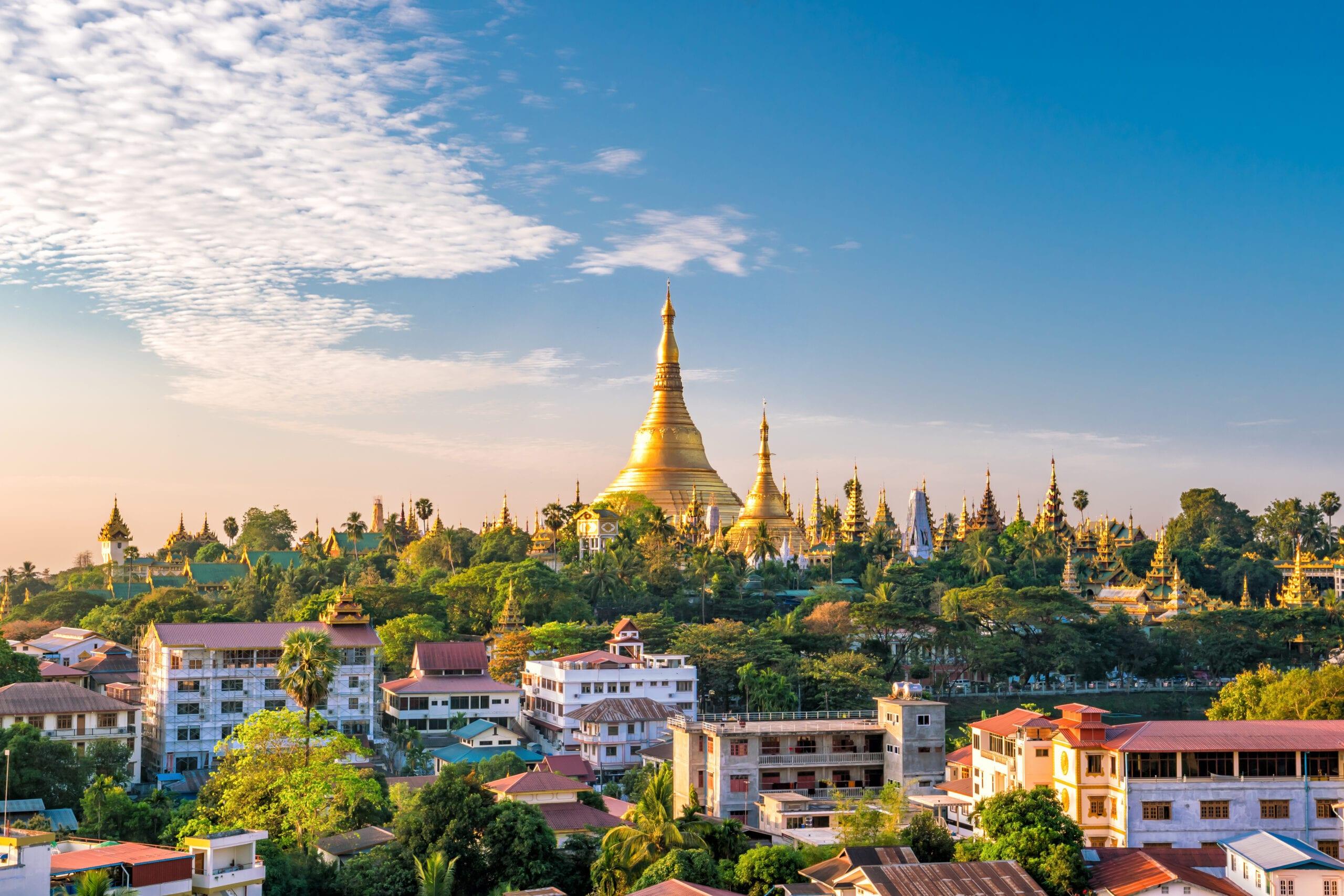 Myanmar skylline
