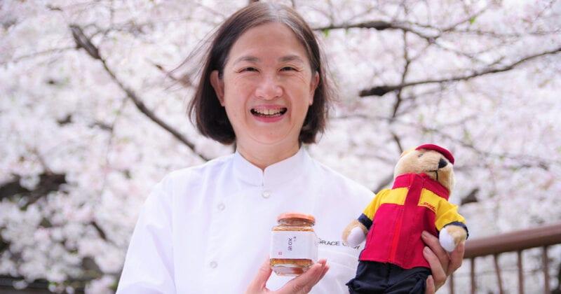 Chef Grace Choy DHL Express