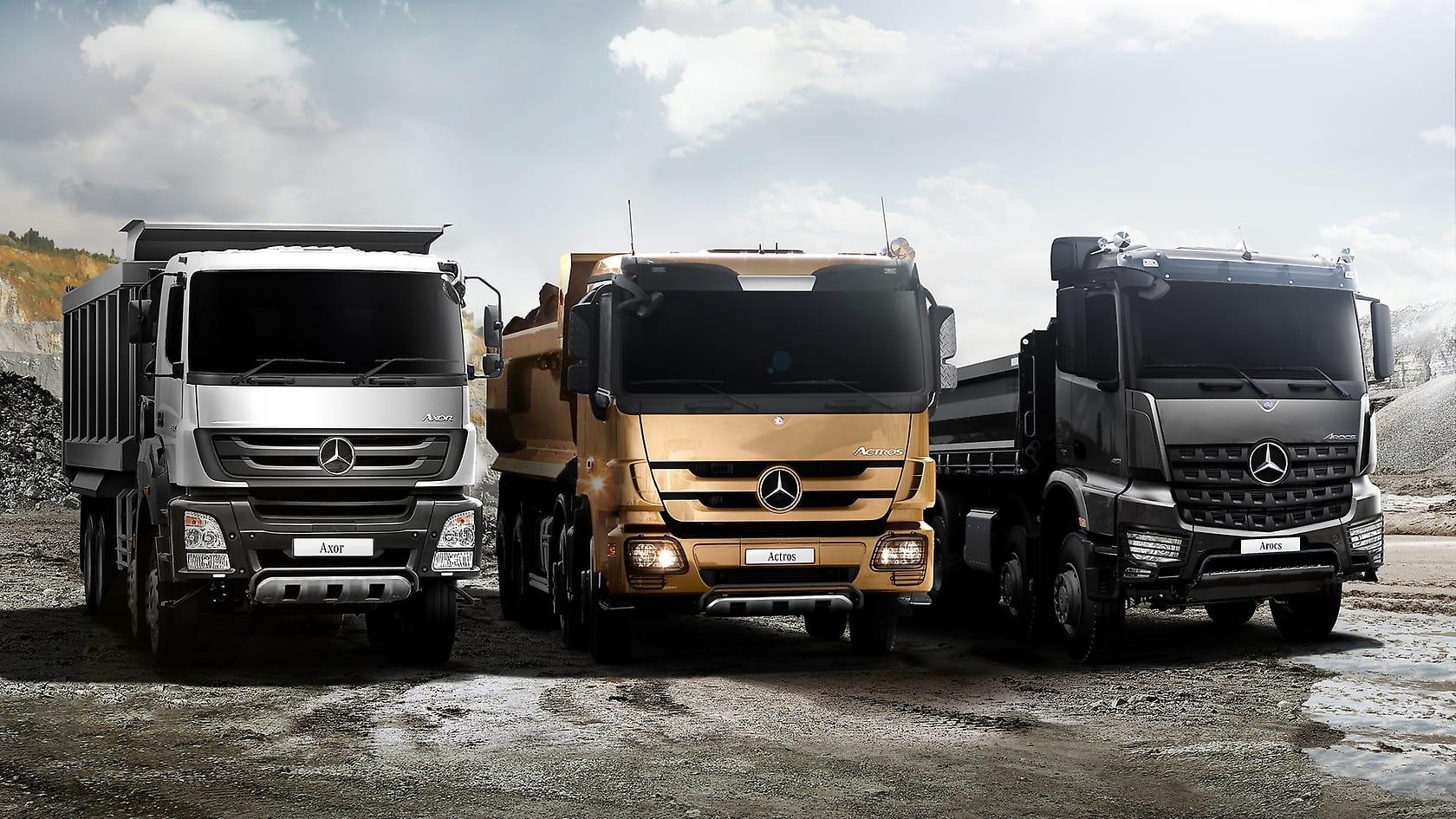 Axor Actros Arocs Indonesia Trucks