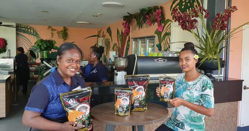 Banz Kofi Mount Hagen coffee