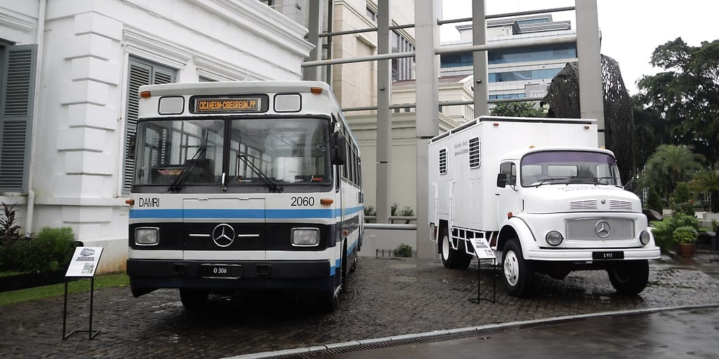 Mercedes 50 years in Indonesia