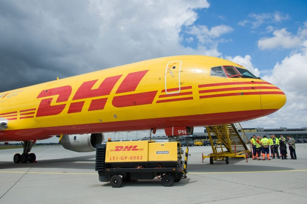 DHL's own cargo freighter makes weekly flights to and from Laos during lockdown. (Image: Shutterstock)