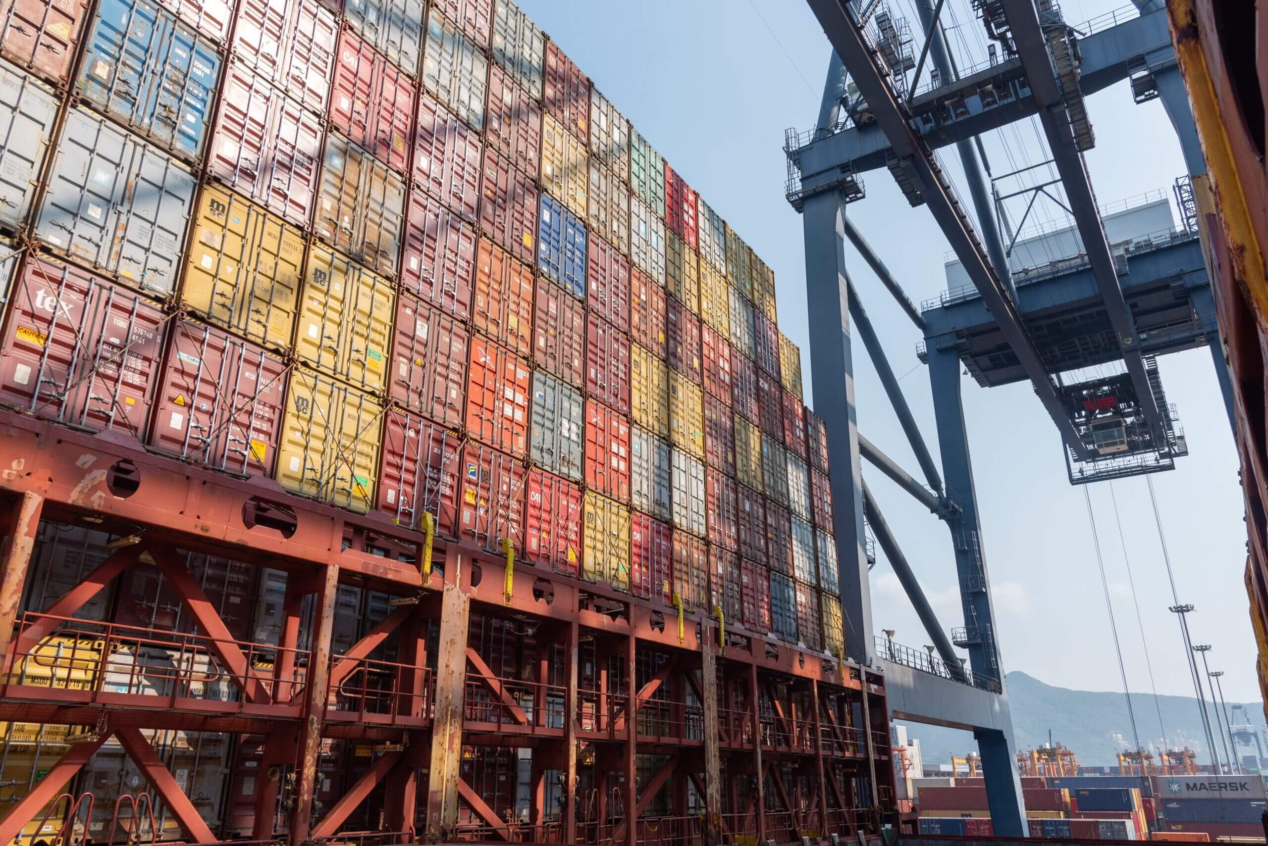 The Yantian port in Southern China was temporarily closed in late May due to a Covid-19 outbreak among the port's staff.